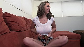 Big natural titjob and handjob