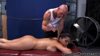 Busty sporty Diamond Kitty pounded in butthole