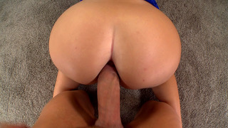 Emma Heart anal fucked doggy POV style