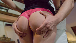 Perfect ass to creampie in