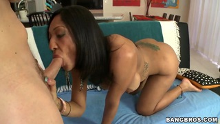 Sophia Diaz takes this blowjob personally