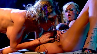 Kayla Paige and Krista Moore are making love