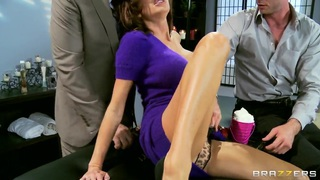 Veronica Avluv first time double penetration