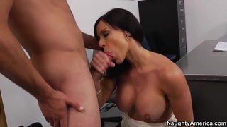 Busty professor Kendra Lust teaching guy hard fuck