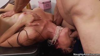 Dana DeArmond and Jordan Ash fuck on workplace