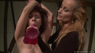 Katy Parker dominates over redhead Patricia Dream