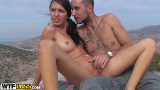 The couple goes out, and Aurita shows her skills in sucking and riding a dick