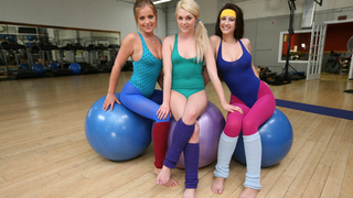 Add Threesome in this yoga session