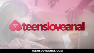TeensLoveAnal - Virgin Best Friends Practice Anal!