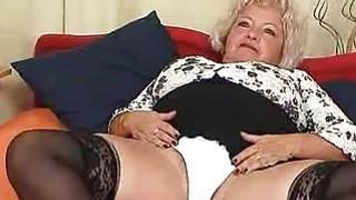 Bigbreasted furry vagina grandma