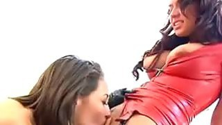 Lesbian Beauties Aim To Please
