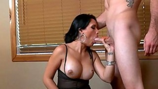 Darling excites hunk with her penis riding