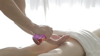 Captivating masseur is plowing babes pussy wildly