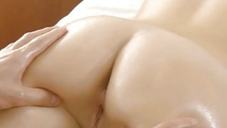 Oiled holes of a gal endure ardent pounding