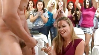 Wild oral session for pumped up stripper