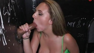 Seductive hotty thrills a hard dick with engulfing