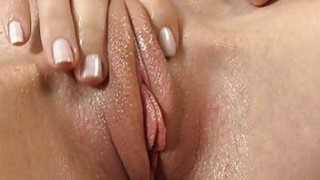 Darling is moaning during sex toy shovelling