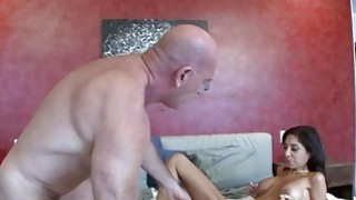 Creepy Stepdad Sniffs Her UnderPants And Then Fucks Her Silly