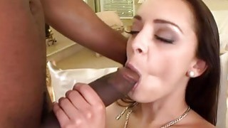 Horny chick Jennifer Dark getting