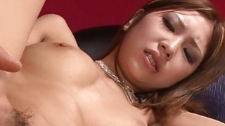 Oriental amazes dude with sexual cowgirl riding