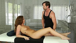 Slutty housewife visits the best fantasy massage