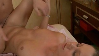 Appealing masseur is plowing babes fur pie wildly