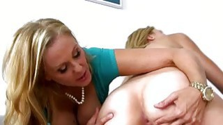 Busty stepmom Julia Ann 3some with teens