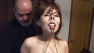 Subtitles CMNF Japanese BDSM nose hooks and more