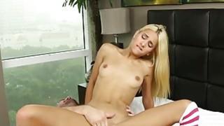 Small tits Uma Jolie filled with hot cum