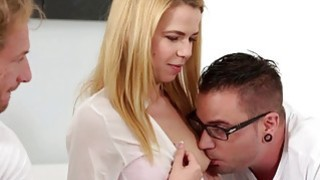 Alina Wests pussy beaten up by step bro