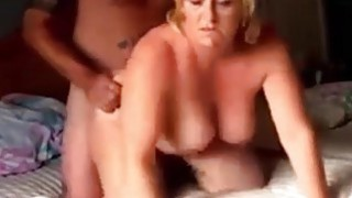 Horny couple having sex