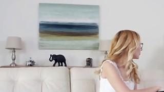 Horny redhead lesbian Jewels shoves tongue in Alexa Grace's pussy