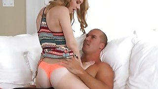 Stacked MILF Cory Chase Is Proud Of The Way Hot Teen Lily Rader Rides That Cock