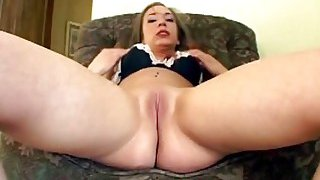 Her pussy and asshole are ready to be expanded by massive dicks