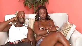 Busty Stacy Adams Takes Cock In Mouth And Cunt