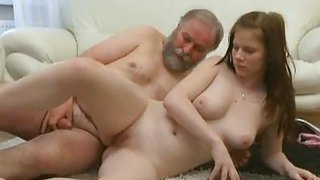 Young sweetheart acquires seduced by a old fucker