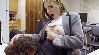 Sexy Ava Hardy fucking her office mate