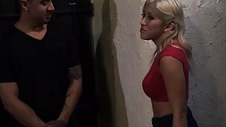 Cristi Ann getting penetrated hard in dark street alley by a huge cock