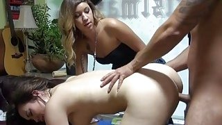 Hot brunette gets pounded for money
