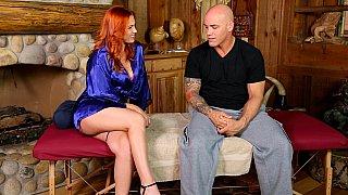 Redhead's dirty massage