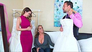Stressful sexy wedding