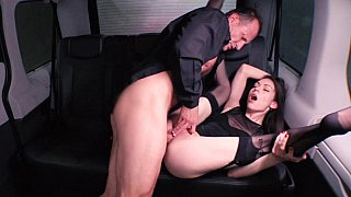 Slut in stockings fucked hard