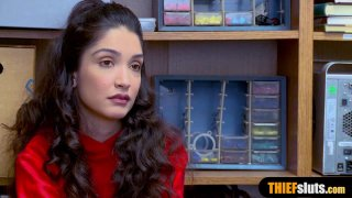 Cute latina gets the D from behind and she loves it